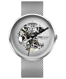 Ciga Design MY Mechanical watch (Silver moon)